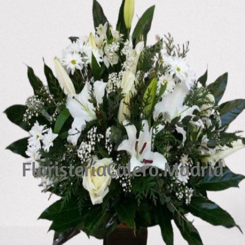 centro flores de Calero para funeral